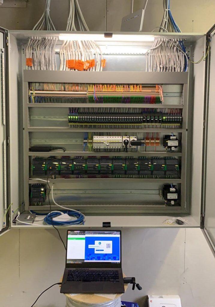 Valimo Center energiaremontti automaatiojärjestelmä